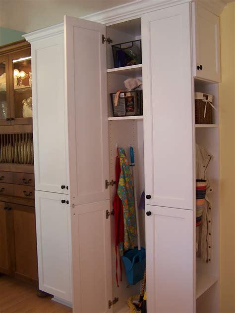 broom closet lowes broom closet storage home design ideas