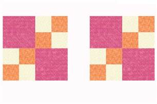 Easy Four Patch Quilt Pattern by Easy Four Patch Quilt Block Pattern