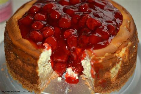 cheese cake cherry sugar cookie cherry cheesecake