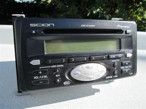 purchase scion tc pioneer am fm radio stereo 6 disc cd