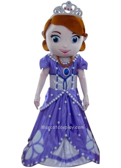 sofia the princess mascot costume fancy dress