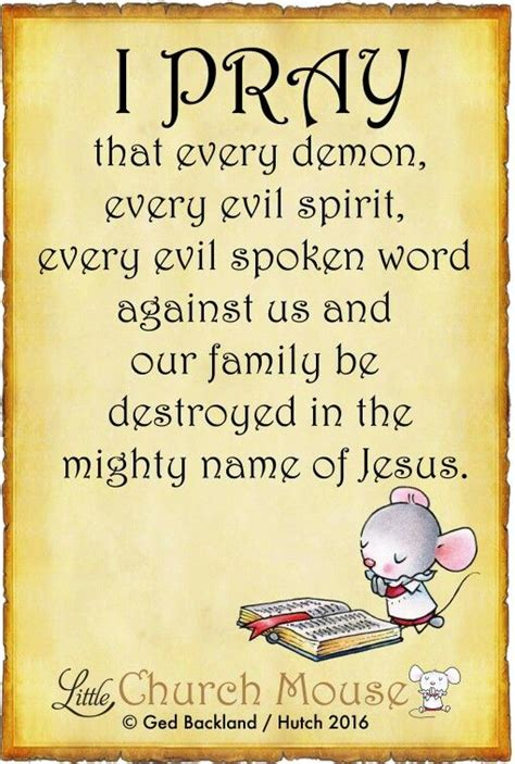 Church Is Keeping About The Name Of Newborn by I Pray That Every Every Evil Spirit Every Evil