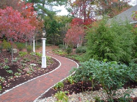 paths design brick walkway ideas landscaping network