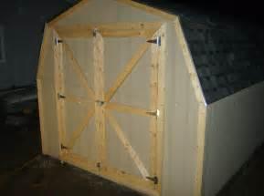 ante garden shed doors