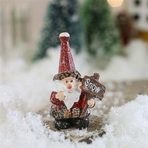 miniature santa claus christmas miniatures christmas