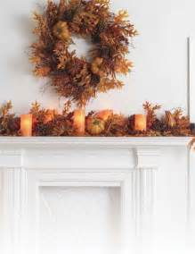 Autumn fireplace mantel inspirations french country cottage