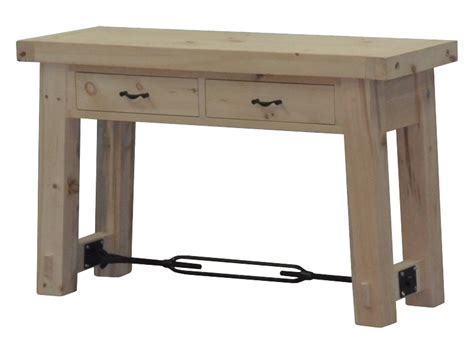 Yukon Console Table Yukon Turnbuckle Sofa Table Craftworks At The Barn