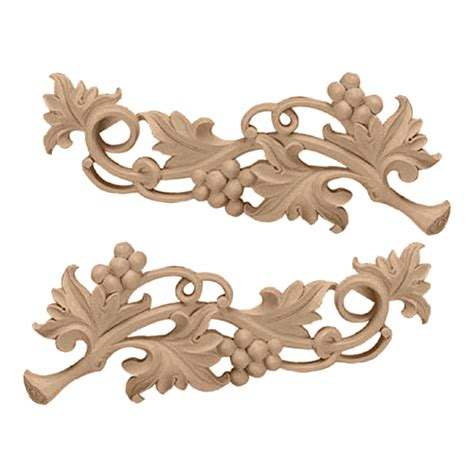 Kitchen Cabinet Appliques by Carved Onlays Wooden Concepts