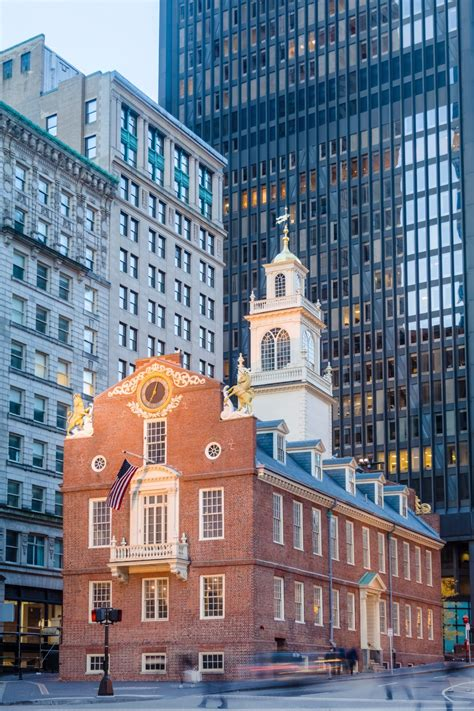 state house boston old state house in boston the old state house was the center of boston in the 18th