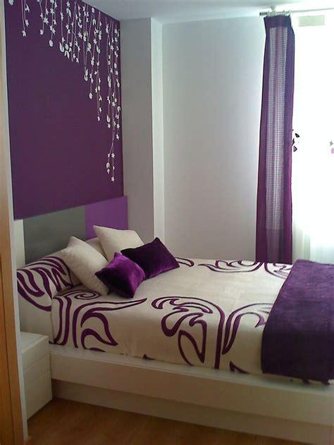 cortinas dormitorio morado facilisimocom