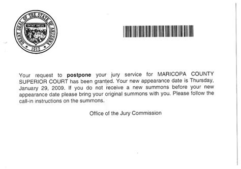 Letter From Employer To Defer Jury Service I Wanted To Vote But Freedoms
