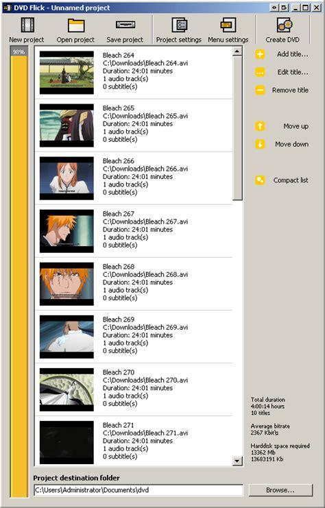 dvd flick menu templates download avi2dvd and dvd converting avi to dvds