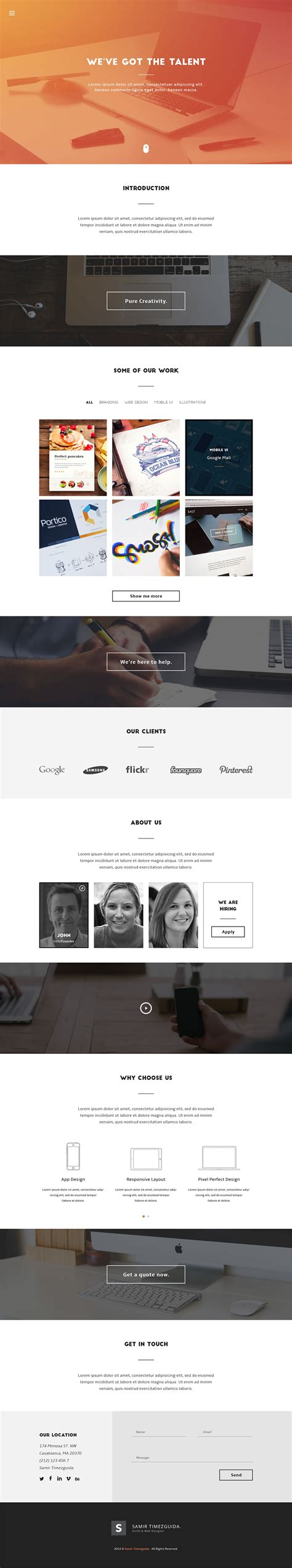templates psd html casablanca free html template free html5 templates