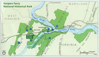 nps harpers ferry maps