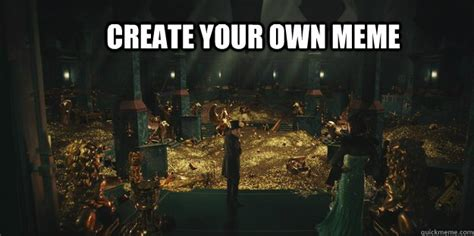 Create Your Own Meme Online - oz the great and powerful gold memes quickmeme