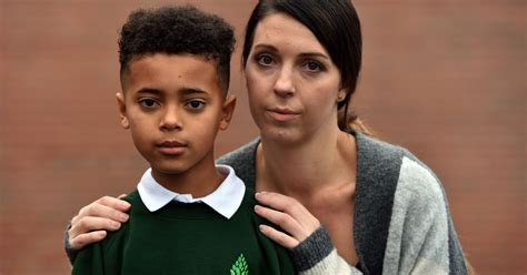 salford boy banned from school over extreme haircut inspired by my little boy was banned from his school christmas concert