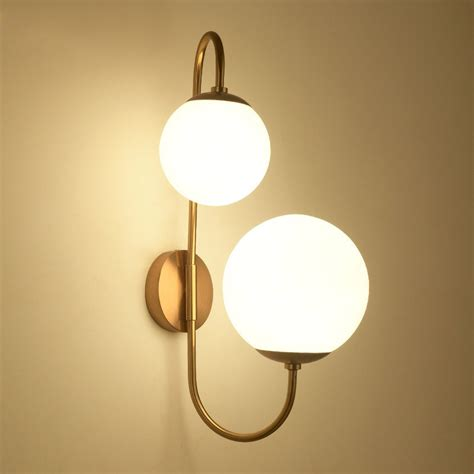 Modern Clear Glass Shades And Modern Chic White Globe Glass Shade Two Light Indoor