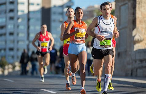 why might be better at running marathons by