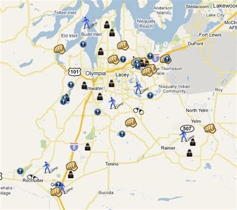 Thurston County Search Spotting Crime In Thurston County Washington Spotcrime The S Crime Map