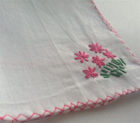 embroidery design for handkerchief embroidered handkerchief 4 easy ways to make your own