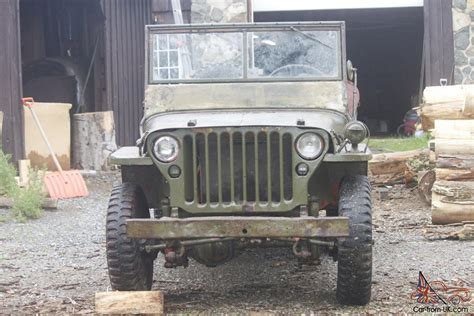 wwii ford jeep 1945 willys jeep ford gpw wwii military jeep army