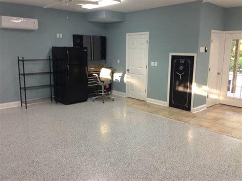 Garage Floor Epoxy Kit With Real Granite Look   ArmorGarage