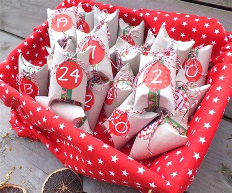 adventskalender basteln mit den bastelideen von geschenke