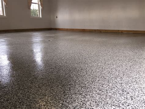 Vinyl Chip Epoxy :: Photos   Decorative Concrete of