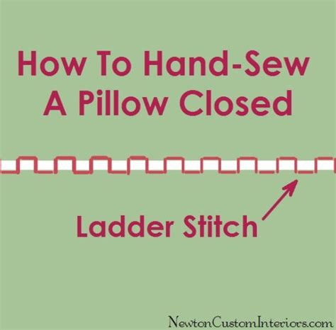 How To Stitch A Pillow Closed by Sew Pillow A Closed That Diy Highlights
