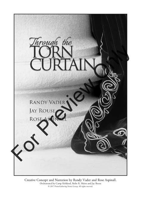 the torn curtain through the torn curtain satb choral score j w pepper
