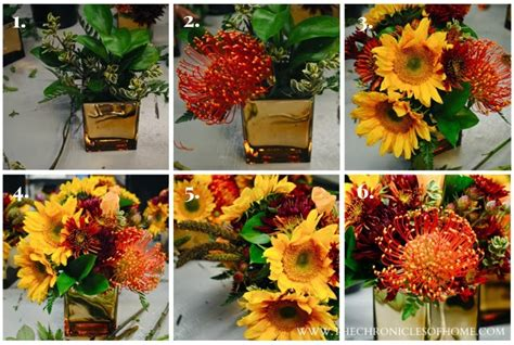 how to make floral arrangements step by step flower arranging for dummies the chronicles of home
