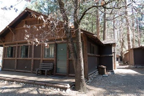 Yosemite Cabins With Bath yosemite national park hotels and food just one cookbook