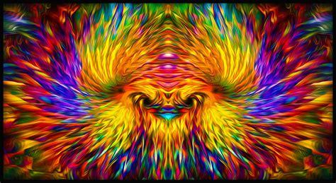phoenix rising visionary art