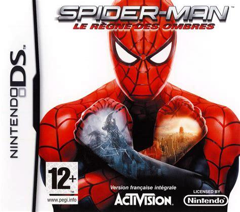 Nintendo E Shop Region Usa 20 spider le r 232 gne des ombres nds nds
