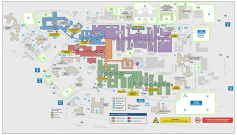 Qmc Floor Plan by Travelling By Car Nottingham University Hospitals Nhs Trust