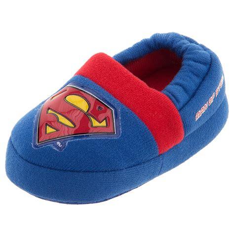 slippers toddler boy superman slippers for toddler boys