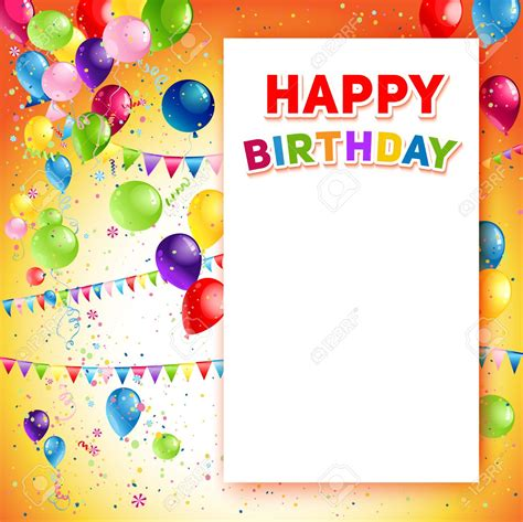 gimp templates birthday card happy birthday poster free template birthday