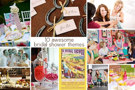 top 10 bridal shower themes 10 awesome bridal shower themes