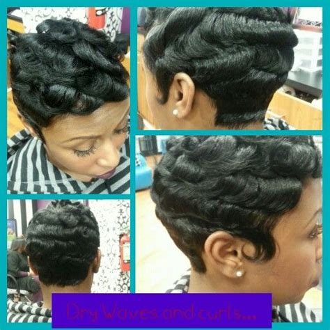 Dry Waves On Black Hair | dry waves and curls hair inspired pinterest waves