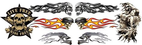 Sticker Tuning Para Motos by Stickers Autocollants Tuning Moto Amt Custom Shop