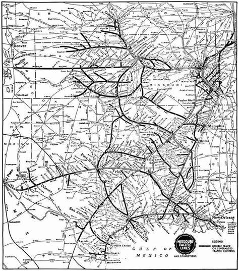 missouri pacific railroad map subdivisions