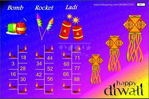 kitty themes for diwali diwali tambola ticket crackers kittypartyy com