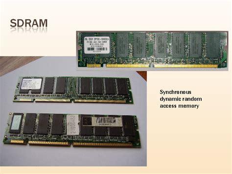 synchronous dynamic ram 86 memorias de pc monografias tipos de memorias ram