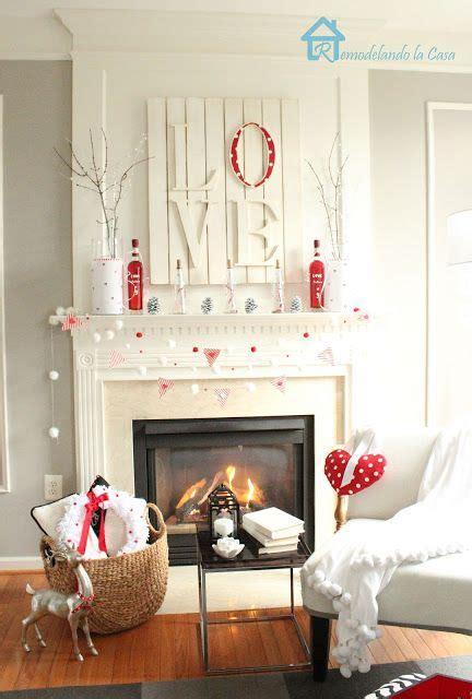 valentines mantel s day mantel decorations and ideas landeelu