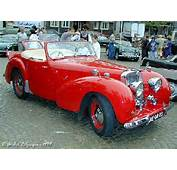 First Unveiled In 1946 The Triumph 1800 Roadster Was Created From A