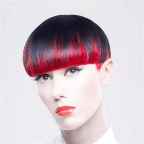 bowl cuts on pinterest bowl cut funky hair and bowl hair red and black hair pinterest short hair bowl