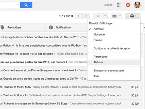 themes gmail 2015 comment modifier son th 232 me gmail