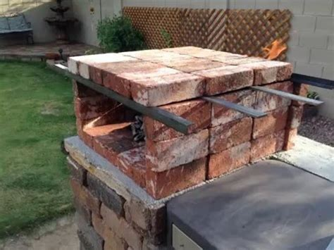 """not a cooking video!   DIY """"PORTABLE """"Brick Pizza Oven"""