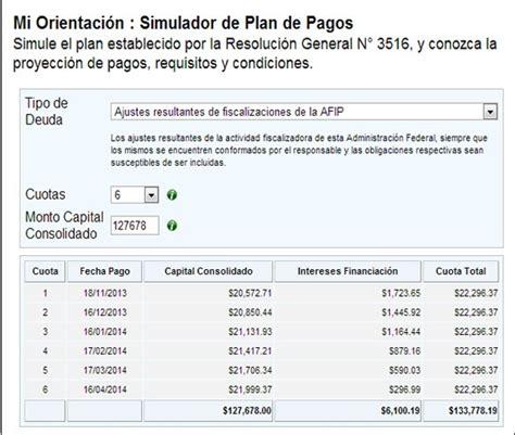 gua para liquidar arbanet de ingresos brutos econoblog nuevo simulador para planes de pago vigentes de la afip