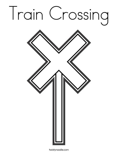 train crossing coloring page railroad crossing coloring pages coloring pages